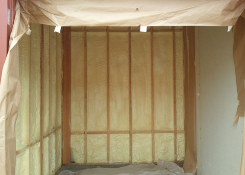 Spray Polyurethane Foam Wall Insulation, Lake Elsinore