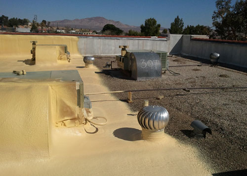 Spray Foam Roof Insulation in Riverside