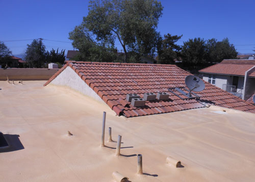 Energy Efficient Roof Coating