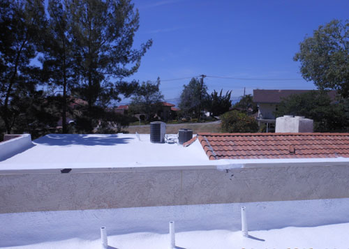 Flat Roof Insulation in Redlands, CA