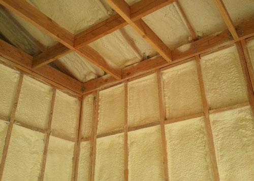 Spray Foam Wall Insulation Spf Polyurethane Urethane
