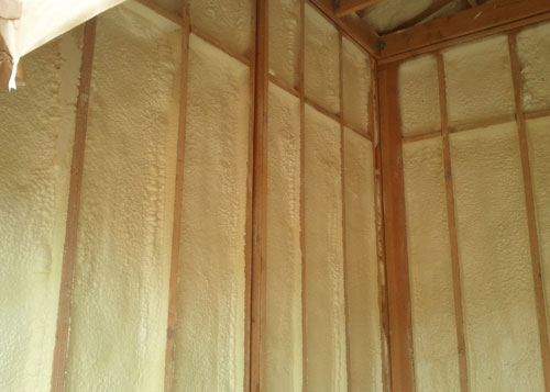 Spray Polyurethane Home Insulation