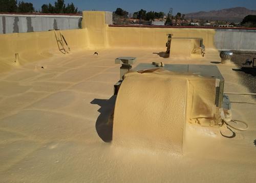Spf Urethane Spray Foam Roofing Contractor Attic Wall