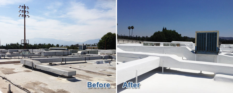 Spray Foam Roofing in Redlands, CA