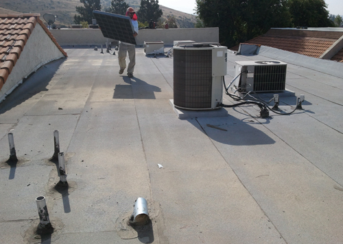 Skilled Roofing Technicians