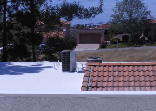 Residential Urethane Foam Roofing