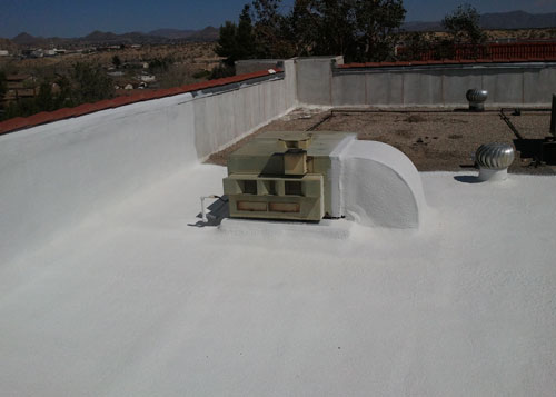 Residential roof coating