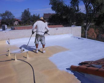 Spf Spray Polyurethane Foam Roof Insulation Urethane